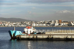 Tanger Harbour Royalty Free Stock Images