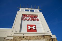 Tanger Outlet Mall in Southaven, Mississippi Royalty Free Stock Photo