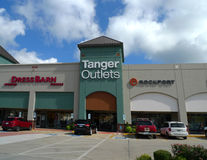 Tanger Outlets mall in Branson, Missouri Royalty Free Stock Photography