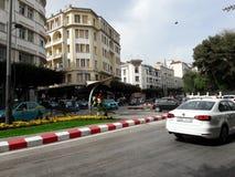 Tanger ville. Près du consulat de France Stock Images