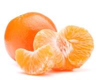 Tangerin- eller mandarinfrukt royaltyfri bild
