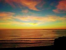 Tangerine ουρανός στοκ εικόνες με δικαίωμα ελεύθερης χρήσης