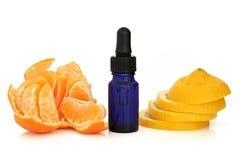 tangerine λεμονιών ουσίας Στοκ εικόνες με δικαίωμα ελεύθερης χρήσης