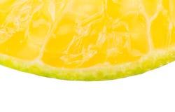 Tangerine πορτοκαλί μακρο ύφος υποβάθρου φρούτων φετών Στοκ Εικόνες