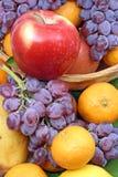 tangerine σταφυλιών μήλων στοκ φωτογραφίες