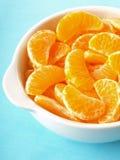 tangerine φετών Στοκ Εικόνες