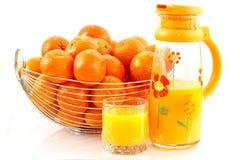 tangerine χυμού Στοκ φωτογραφία με δικαίωμα ελεύθερης χρήσης