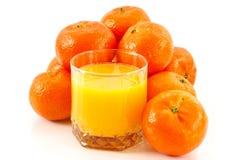 tangerine χυμού Στοκ εικόνες με δικαίωμα ελεύθερης χρήσης