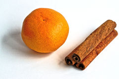 tangerine и циннамон Стоковые Фото