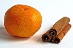 tangerine и циннамон Стоковое Изображение