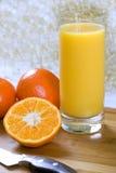 tangerine сока стоковая фотография rf