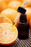 tangerine эфирного масла Стоковая Фотография RF
