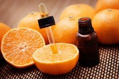 tangerine эфирного масла Стоковое Фото