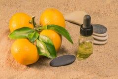 tangerine эфирного масла Стоковые Изображения