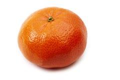 Tangerine. Isolated on white background Royalty Free Stock Photos