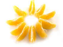 tangerine Στοκ εικόνες με δικαίωμα ελεύθερης χρήσης