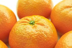 Tangerine. Close up of fresh tasty tangerine Stock Photography