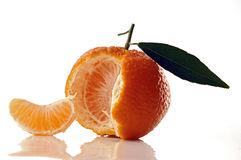 Tangerine. Fresh tangerine stock photos