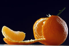 Tangerine. Fresh tangerine royalty free stock photo