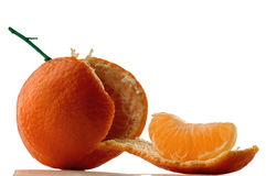 Tangerine. Fresh tangerine royalty free stock photography