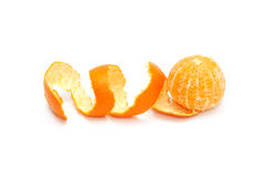 Tangerine. Isolated on a white background Stock Image