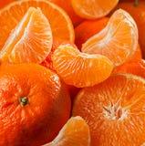Tangerine background Royalty Free Stock Photo