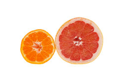 Tangerine and blood orange Royalty Free Stock Photography