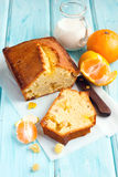 Tangerine cake Royalty Free Stock Images