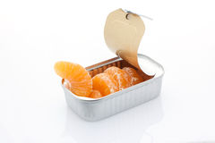 Tangerine can Royalty Free Stock Photo