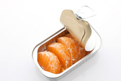 Tangerine can Stock Image