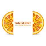 Tangerine citrus fruit Stock Photography
