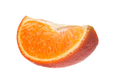 Tangerine citrus slice Royalty Free Stock Photography