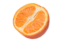 Tangerine citrus slice Royalty Free Stock Images