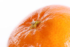 Tangerine in close-up Royalty Free Stock Photo