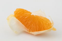 Tangerine close up Royalty Free Stock Images