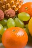 Tangerine closeup Royalty Free Stock Photography