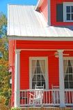 Tangerine Coastal Home Royalty Free Stock Photography