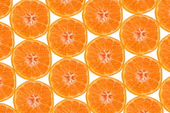 Tangerine composition Stock Photo