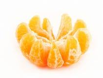 Tangerine descascado Imagem de Stock