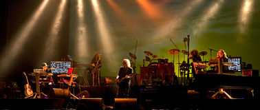 Tangerine Dream live Stock Images