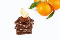Tangerine dream- studio shot royalty free stock photography