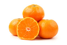 Tangerine fruit Stock Photography