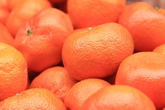 Tangerine fruit background Royalty Free Stock Photos