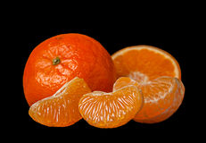 Tangerine fruit Stock Image