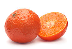 Tangerine fruit closeup Royalty Free Stock Photo