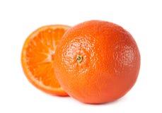 Tangerine fruit isolated Royalty Free Stock Images