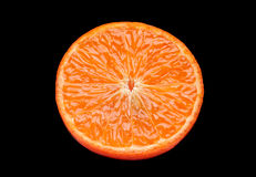 Tangerine fruit slice Royalty Free Stock Photography