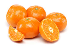 Tangerine Group Royalty Free Stock Photography