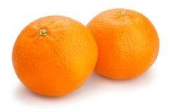 Tangerine. Group on white background Royalty Free Stock Photo