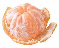 Tangerine isolated Royalty Free Stock Photos